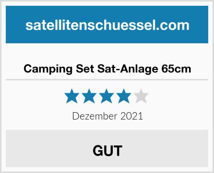 Camping Set Sat-Anlage 65cm Test