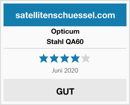 Opticum Stahl QA60 Test