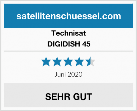 Technisat DIGIDISH 45 Test