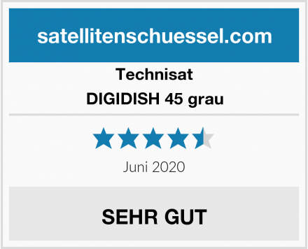 Technisat DIGIDISH 45 grau Test
