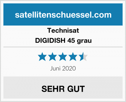 Technisat DIGIDISH 45 grau Test