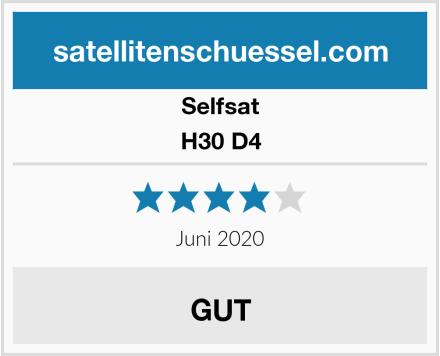 Selfsat H30 D4 Test