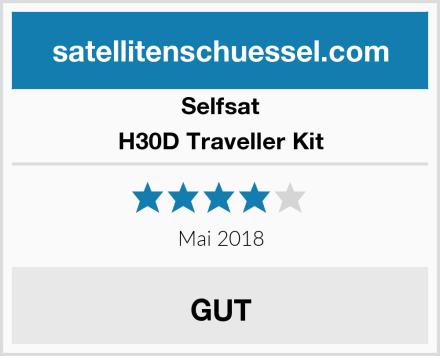 Selfsat H30D Traveller Kit Test