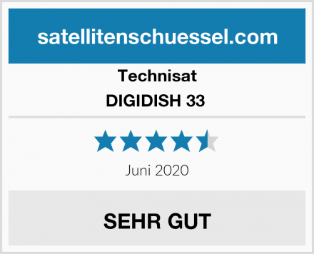 Technisat DIGIDISH 33  Test