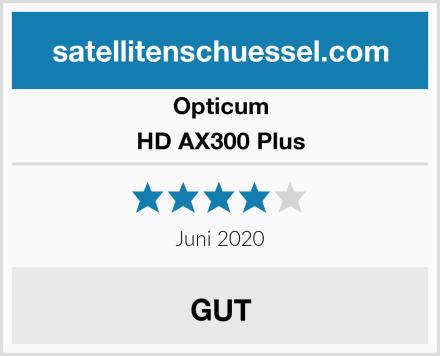 Opticum HD AX300 Plus Test