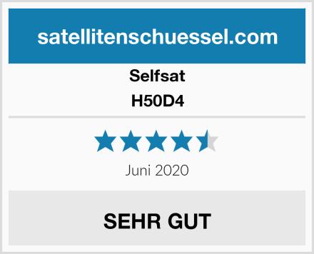 Selfsat H50D4 Test