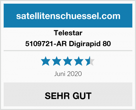 Telestar 5109721-AR Digirapid 80 Test