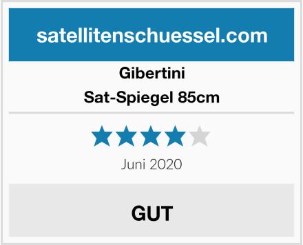 Gibertini Sat-Spiegel 85cm Test