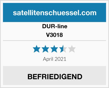 DUR-line V3018 Test