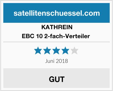 KATHREIN EBC 10 2-fach-Verteiler  Test