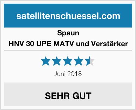 Spaun HNV 30 UPE MATV und Verstärker Test