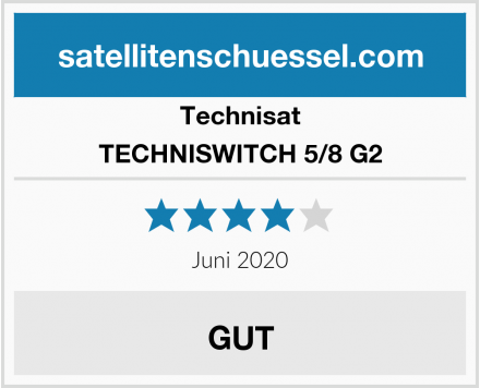 Technisat TECHNISWITCH 5/8 G2 Test