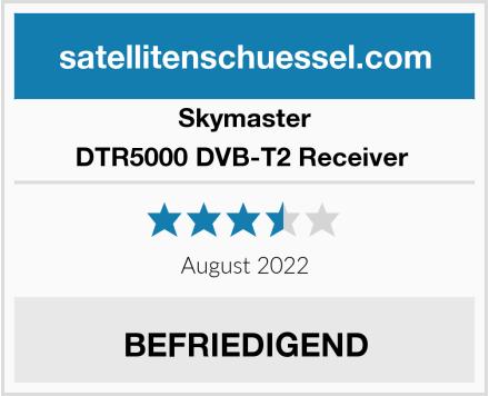 Skymaster DTR5000 DVB-T2 Receiver  Test