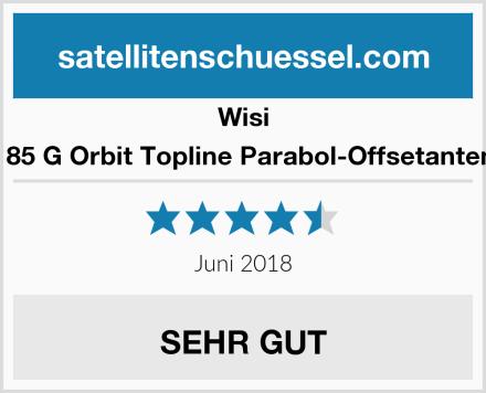 Wisi OA 85 G Orbit Topline Parabol-Offsetantenne Test
