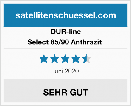 DUR-line Select 85/90 Anthrazit  Test