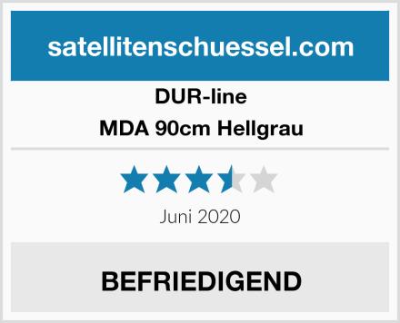 DUR-line MDA 90cm Hellgrau Test