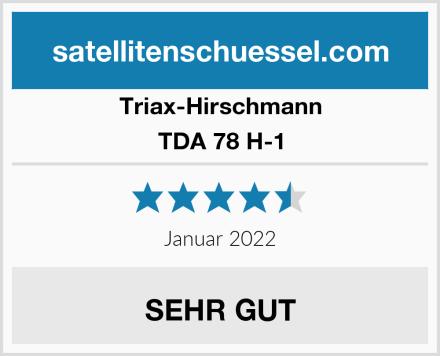 Triax-Hirschmann TDA 78 H-1 Test