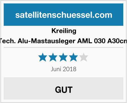Kreiling Tech. Alu-Mastausleger AML 030 A30cm Test