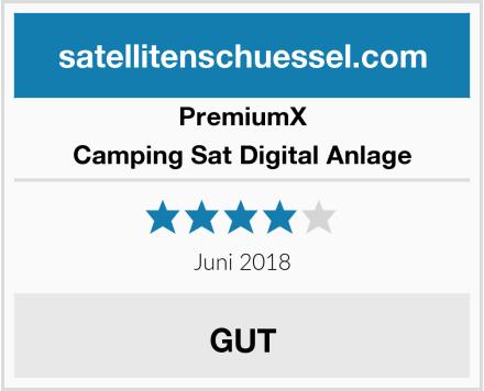 PremiumX Camping Sat Digital Anlage Test