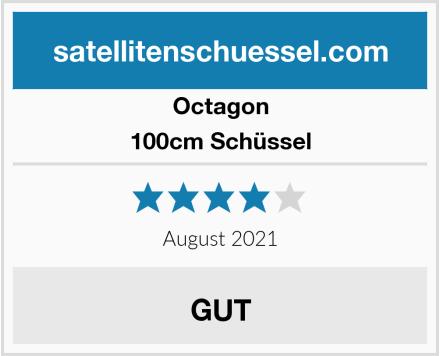 Octagon 100cm Schüssel Test