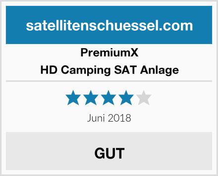PremiumX HD Camping SAT Anlage Test
