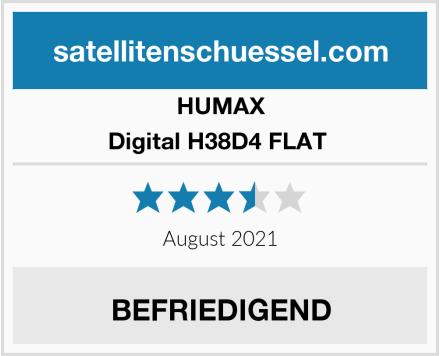 HUMAX Digital H38D4 FLAT  Test