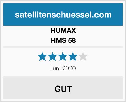 HUMAX HMS 58 Test