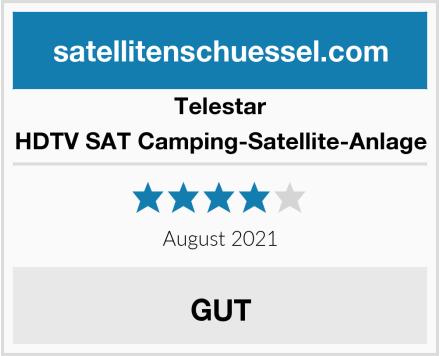 Telestar HDTV SAT Camping-Satellite-Anlage Test