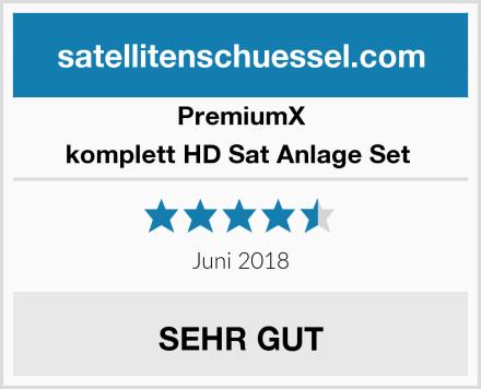 PremiumX komplett HD Sat Anlage Set  Test