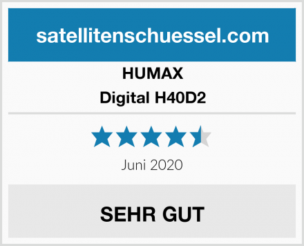 HUMAX Digital H40D2 Test
