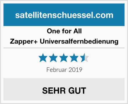 One for All Zapper+ Universalfernbedienung Test