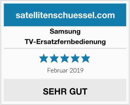 Samsung TV-Ersatzfernbedienung Test