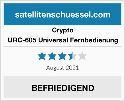 Crypto URC-605 Universal Fernbedienung Test