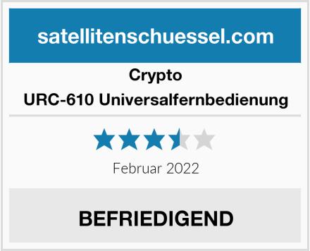 Crypto URC-610 Universalfernbedienung Test