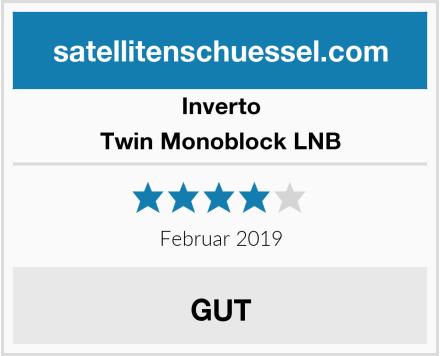 Inverto Twin Monoblock LNB Test