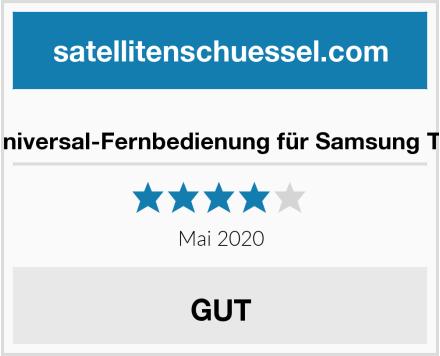 Universal-Fernbedienung für Samsung TV Test