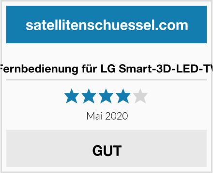 Fernbedienung für LG Smart-3D-LED-TV Test