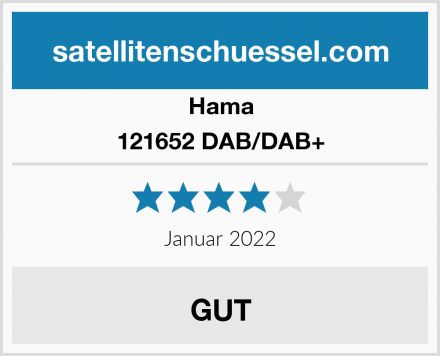 Hama 121652 DAB/DAB+ Zimmerantenn Test
