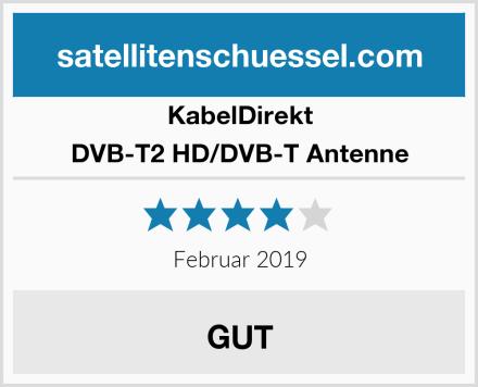KabelDirekt DVB-T2 HD/DVB-T Antenne Test