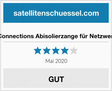 Good Connections Abisolierzange für Netzwerkkabel Test