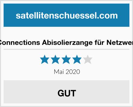 Good Connections Abisolierzange für Netzwerkkabel Test