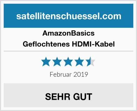 AmazonBasics Geflochtenes HDMI-Kabel Test