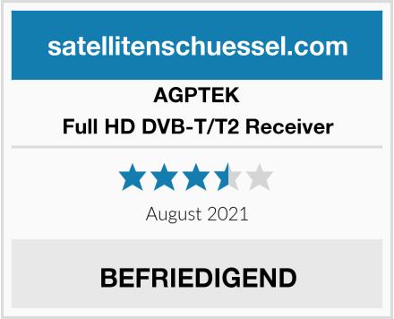 AGPTEK Full HD DVB-T/T2 Receiver Test