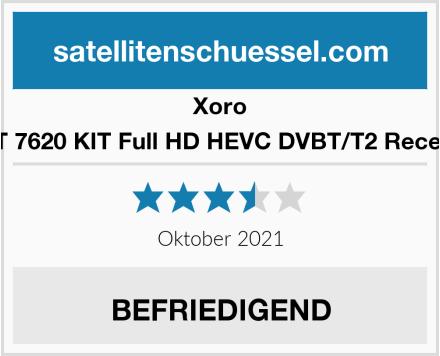Xoro HRT 7620 KIT Full HD HEVC DVBT/T2 Receiver Test