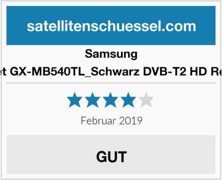 Samsung Freenet GX-MB540TL_Schwarz DVB-T2 HD Receiver Test