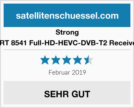 Strong SRT 8541 Full-HD-HEVC-DVB-T2 Receiver Test