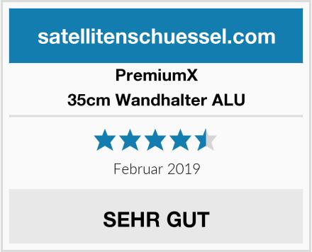 Premiumx 35cm Wandhalter ALU Test