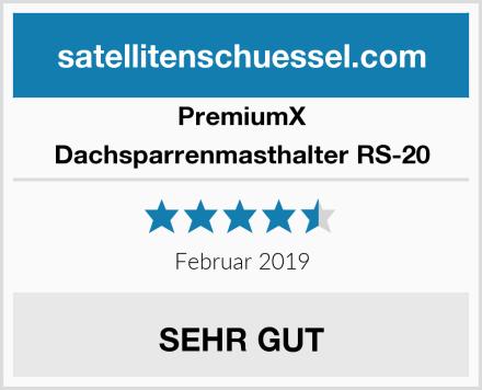 PremiumX Dachsparrenmasthalter RS-20 Test