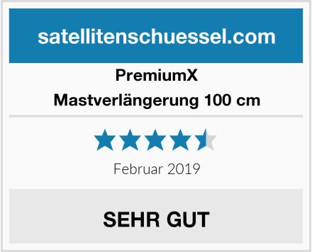 Premiumx Mastverlängerung 100 cm Test
