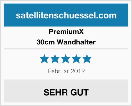Premiumx 30cm Wandhalter Test